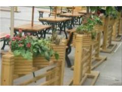 防腐木花槽